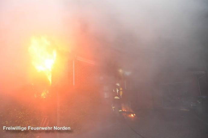 Gebäudebrand, 30.12.2016