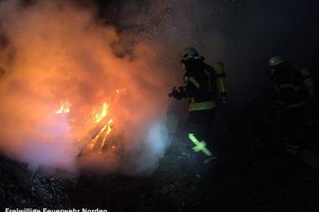 Brennender Sperrmüll, 16.12.2016