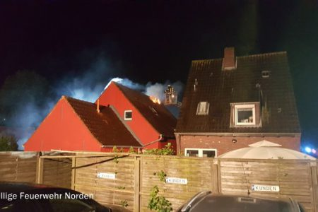 Wohngaragenbrand, 12.06.2016