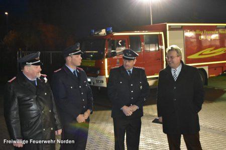 Amtsübergabe, 30.11.2016