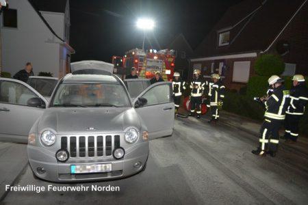Pkw-Brände, 20.09.2016