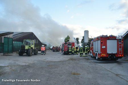 Rundballenbrand, 18.09.2016