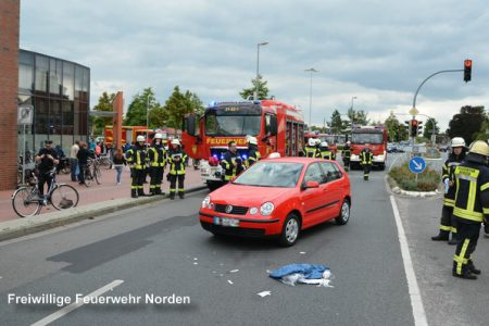 Schwerer Verkehrsunfall, 20.09.2016