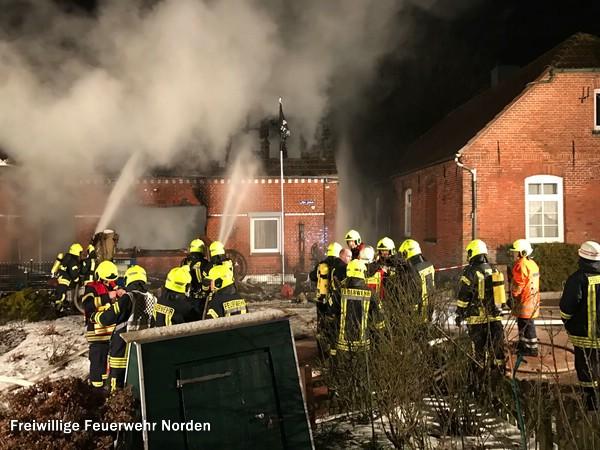 Gebäudebrand, 19.01.2017