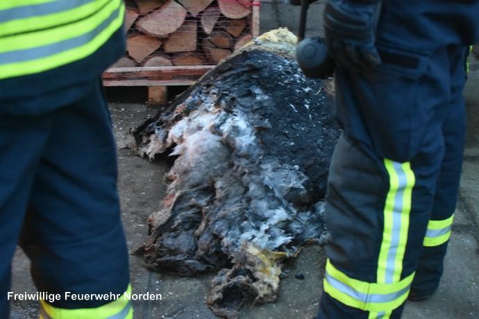 Brennende Heizungsanlage, 21.02.2017