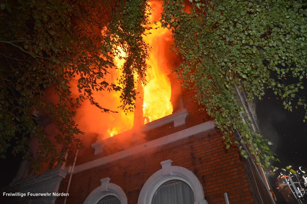 Gebäudebrand, 25.06.2017