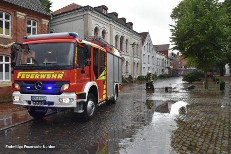 Mehrere Einsätze durch Starkregen, 20.08.2017