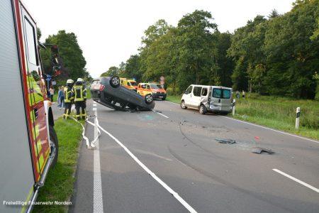 Verkehrsunfall, 16.08.2017
