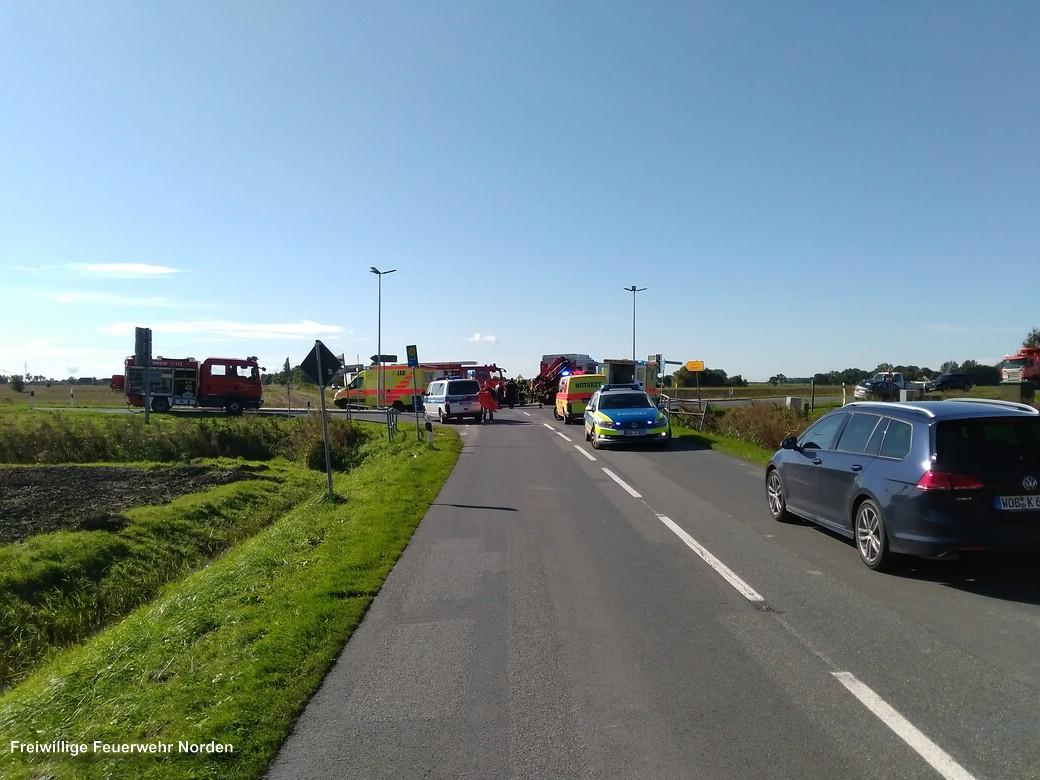 Verkehrsunfall, 15.09.2017