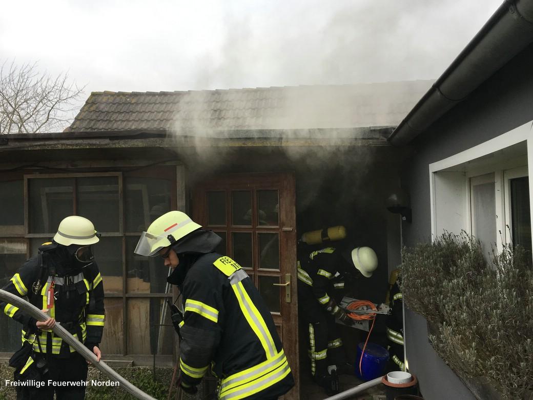 Küchenbrand 25.12.2017