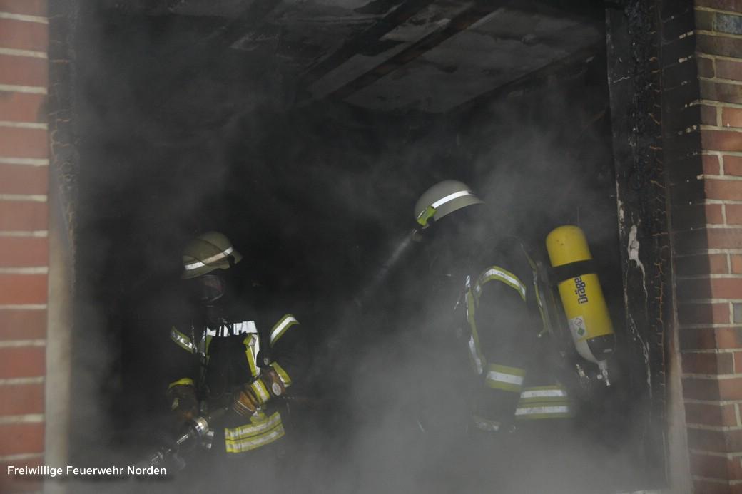 Gebäudebrand, 12.12.2017