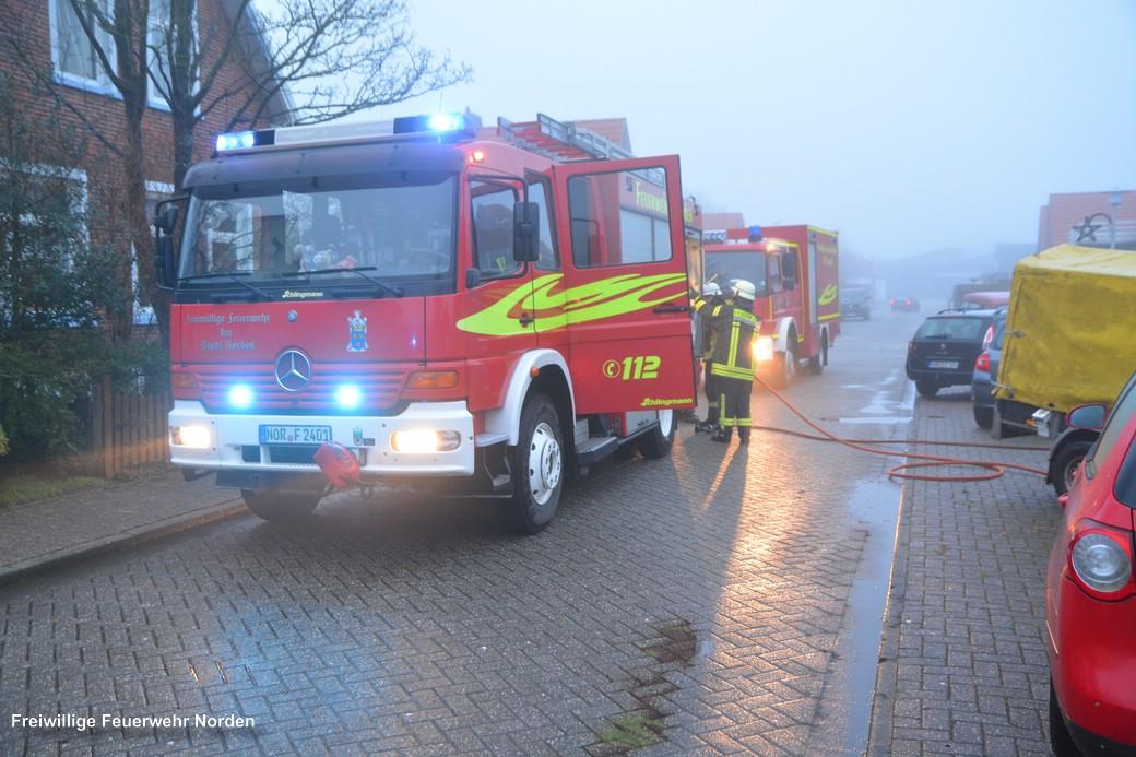 Mülltonnenbrand, 21.12.2017