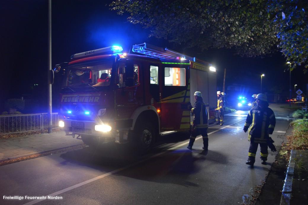 Drei Brandeinsätze zeitgleich, 19.10.2018