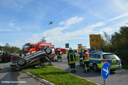 Schwerer Verkehrsunfall, 08.10.2018