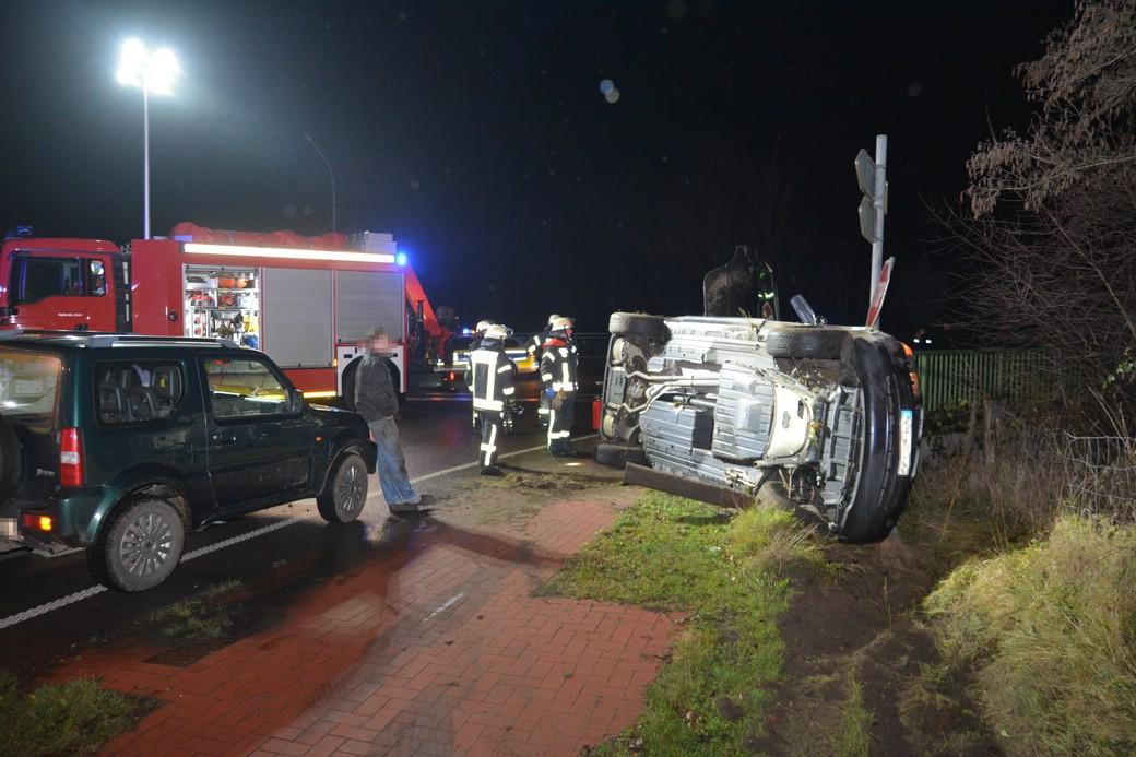 Verkehrsunfall, 26.12.2018