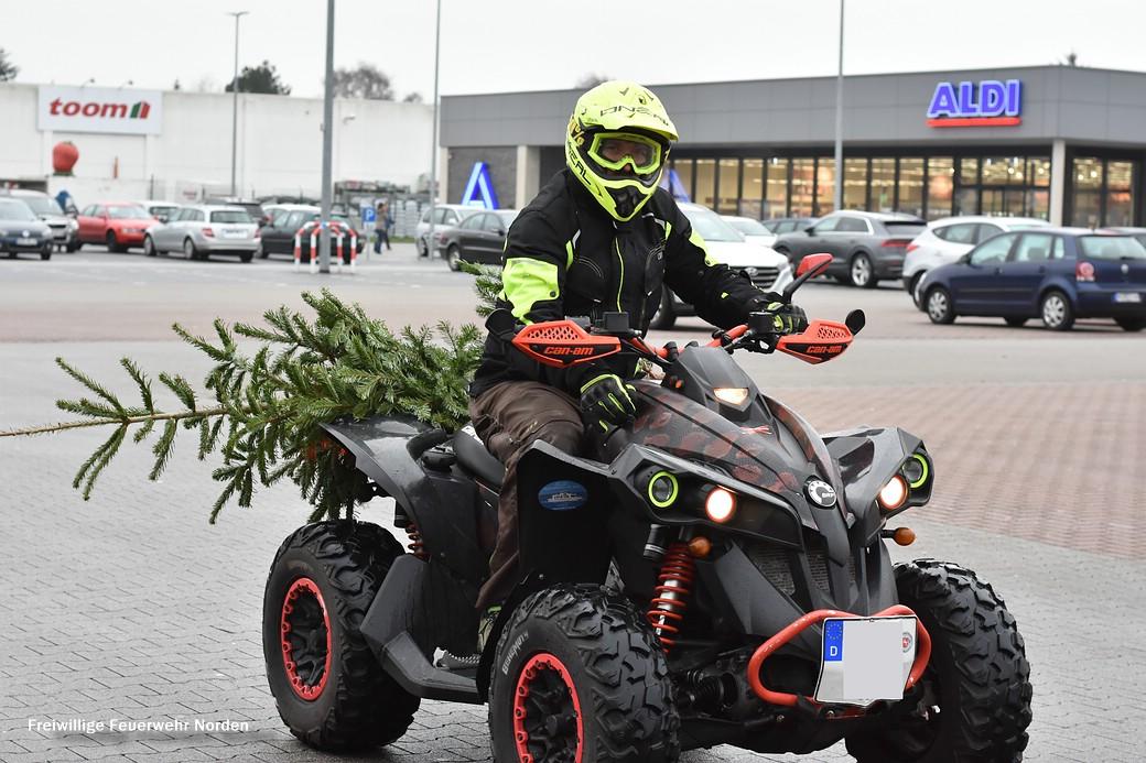 Weihnachtsbaumsammelaktion 2019, 12.01.2019