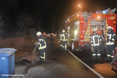 Mülltonnenbrand, 22.02.2019