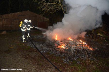 Wohnwagenbrand, 25.02.2019