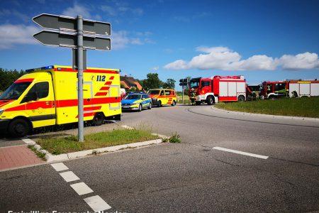 Hilfeleistung nach Verkehrsunfall, 29.05.2019