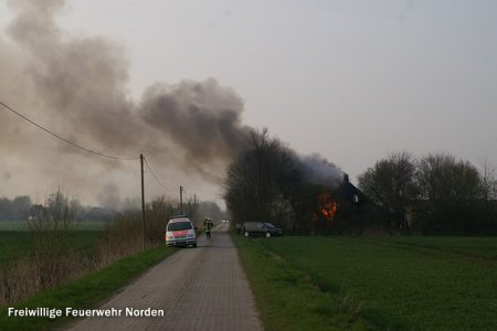 Gebäudebrand, 03.04.2014