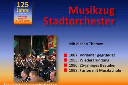 Musikzug und Stadtorchester