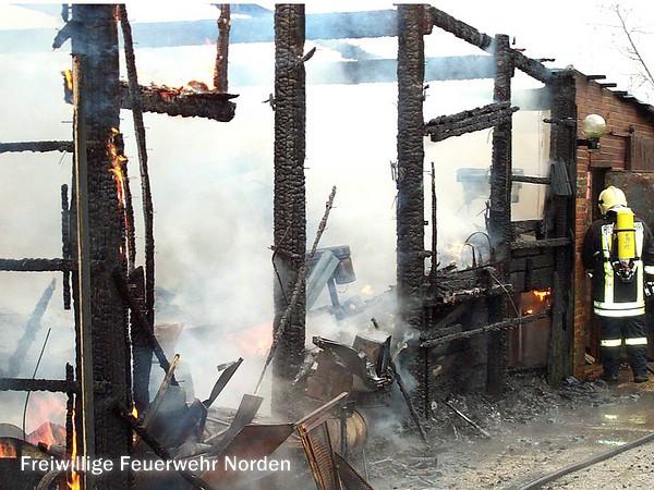 Brände und Hilfeleistungen 1915 - 2000