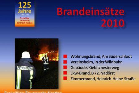 Brandeinsätze 2010