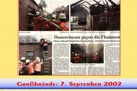 Presseberichte 2000 - 2003