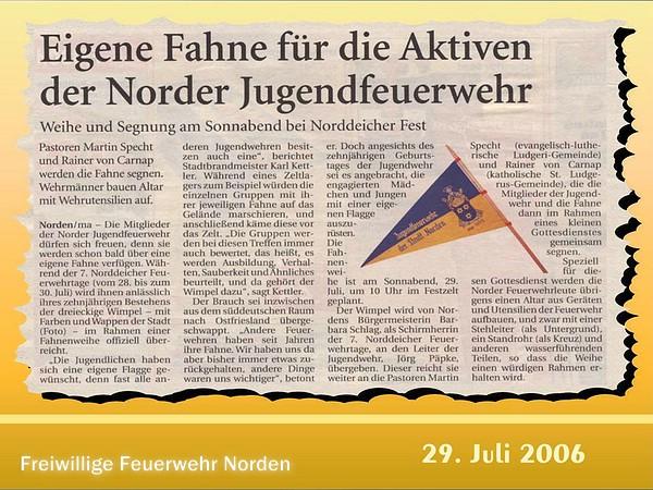 Presseberichte 2004 - 2006