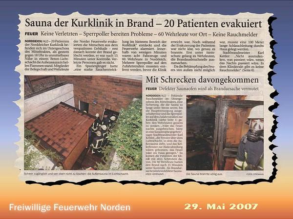 Presseberichte 2007