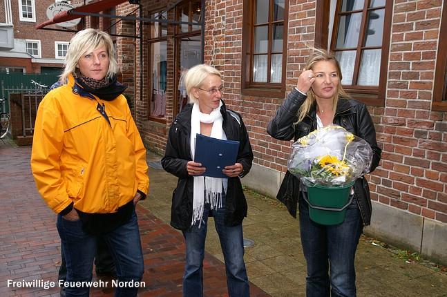 Damenfahrt, 11.08.2011
