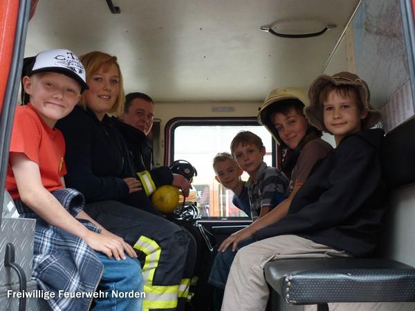 Ein Nachmittag bei der Feuerwehr, 12.08.2011
