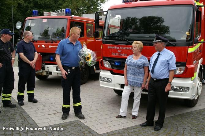Verabschiedung Gerd Buhr, 02.08.2011