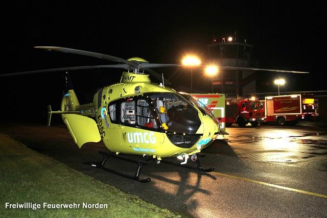 Hubschrauberlandung, 23.08.2014