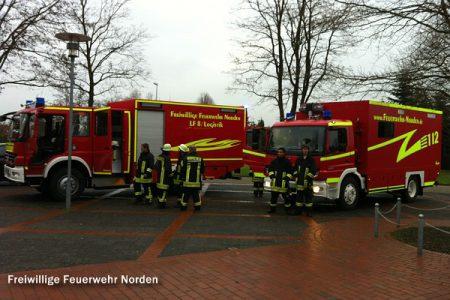 Auslösung Brandmeldeanlage, 23.12.2011