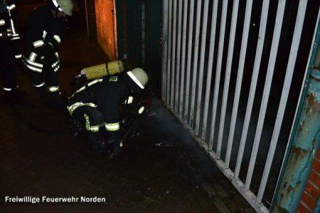 Brennender Unrat, 28.12.2012