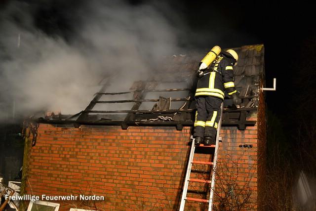 Schuppenbrand, 31.12.2012