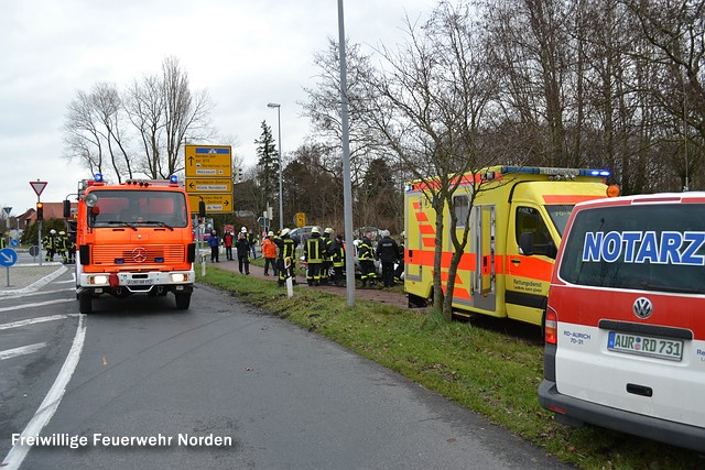 Verkehrsunfall, 31.12.2012
