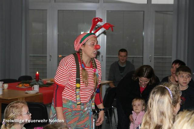 Nikolausfeier im Hilfeleistungszentrum, 07.12.2013