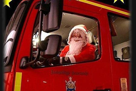 Weihnachtsgruß der Feuerwehr Norden