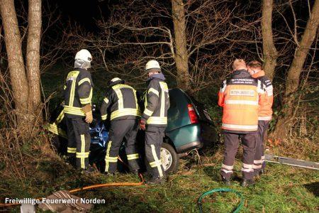 Schwerer Verkehrsunfall, 26.12.2014