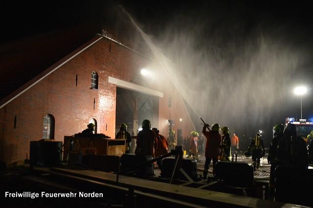 Scheunenbrand, 23.12.2015