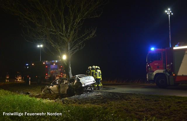 Schwerer Verkehrsunfall, 26.12.2015