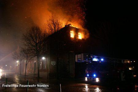 Gebäudebrand, 23.02.2012