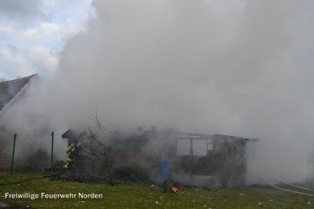 Schuppenbrand, 21.02.2012