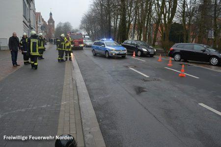 Ölschaden nach Verkehrsunfall, 19.02.2014