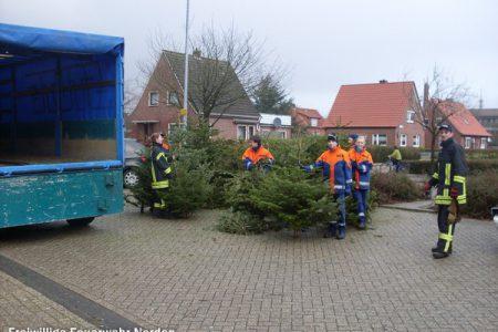 Weihnachtsbaumsammelaktion, 07.01.2012