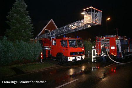 Gebäudebrand, 01.01.2012