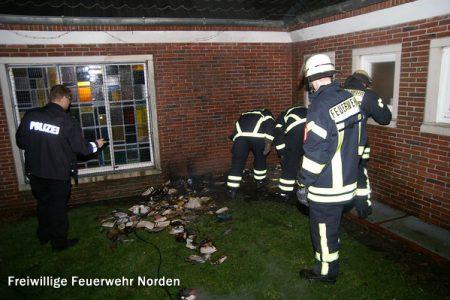 Mülltonnenbrand, 02.01.2012
