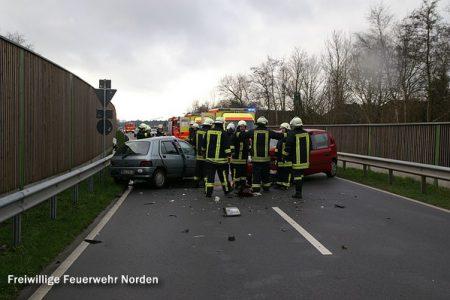 Schwerer Verkehrsunfall, 01.01.2012
